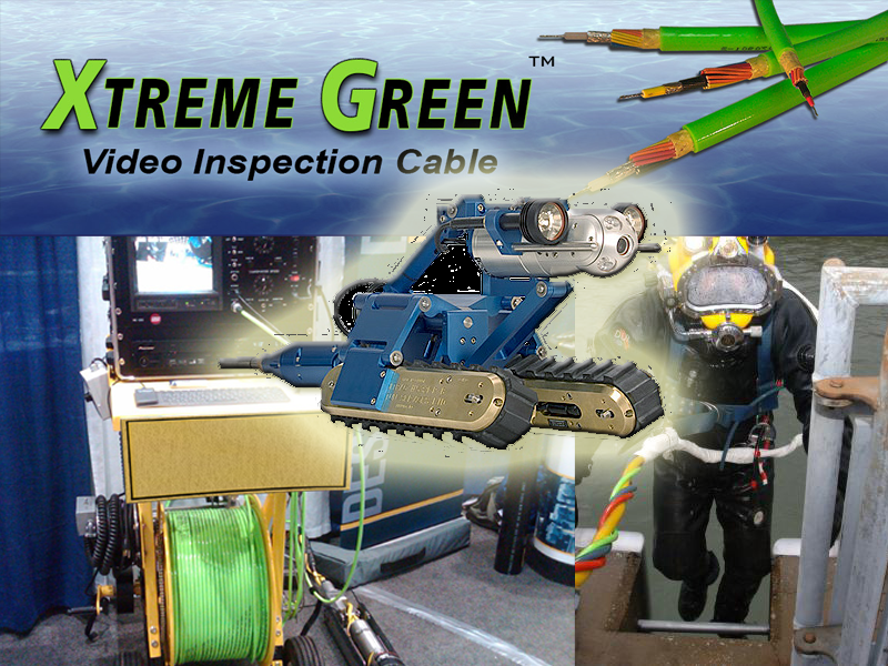 Xtreme Green Video Inspection Cable